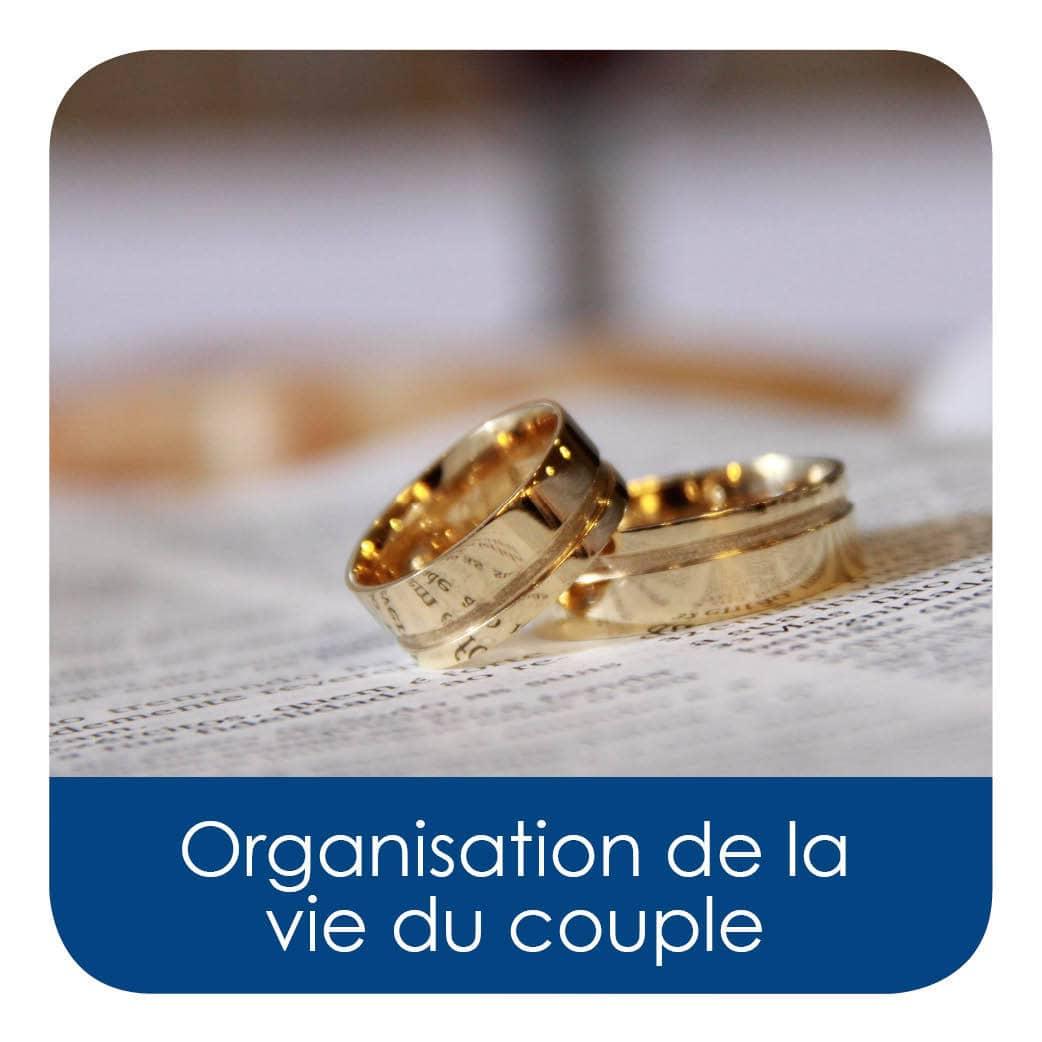 Organisation de la vie du couple