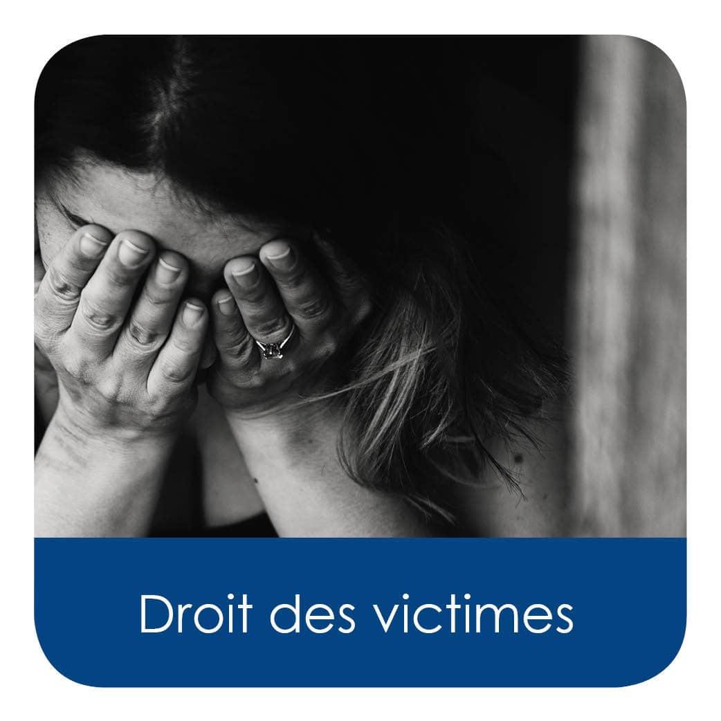 Droit des victimes